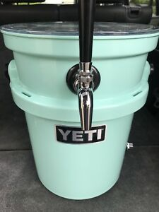 Stainless Jockey Box Draft Keg Beer Cooler Single Coil Complete New Fast Ship