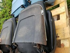 1967 Chevelle Pontiac Gto Malibu Factory Bucket Seats With Metal Trim Cores