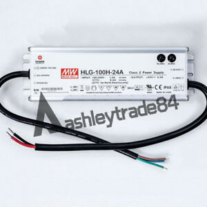 Meanwell Hlg 100h 24a Power Supply Led Driver Water Dust proof