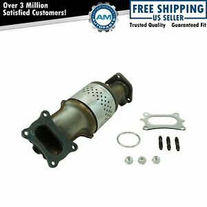 Front Exhaust Manifold Catalytic Converter With Gasket Hardware For Honda New