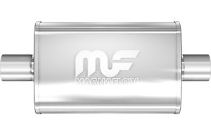 Magnaflow 4x9 14 Oval Straight Through Muffler 2 25 In Out Center Center 11215