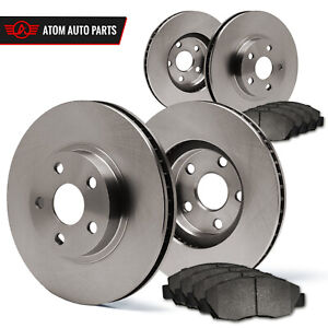1998 1999 2000 Ford Contour Non Svt Oe Replacement Rotors Metallic Pads F R