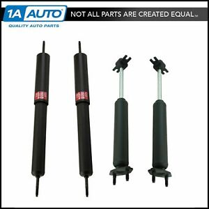 Kyb Excel G 343146 343219 Front Rear Shock Absorber Kit Set 4pc For Mustang New