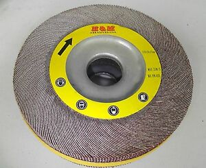 10 Abrasive Flap Wheels 8 inch X 1 X 1 A o 120 Grit Unmounted Sanding Disc