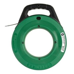 Ftss438 100 Greenlee Stainless Steel Fish Tape 100