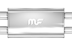 Magnaflow 5x11 22 Oval Straight Through Muffler 3 In Out Dual Dual 12599