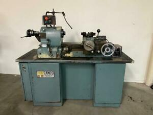 Feeler Hardinge Type High Accuracy Ram Chucker Turret Lathe 5c Collets New 1985