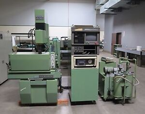 Fine Sodick Model Fs a3c Sinker Edm Machine With Mark V Control