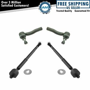 Steering Tie Rod End Inner Outer Lh Rh Set Of 4 For 00 05 Toyota Celica New