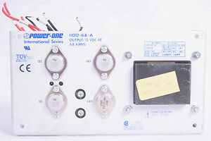 Power One International Series Power Supply Hd12 6 8 a 12 Vdc Free Shipping