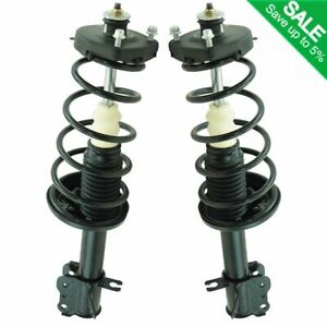 Rear Complete Loaded Strut Spring Assembly Lh Rh Kit Pair For Mazda Protege New