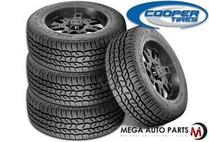 4 X New Cooper Discoverer A tw Lt305 55r20 121s E 10 Blk All Terrain Tires At