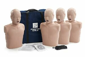 Prestan Child Aed Manikins 4 Pack Medium Skin