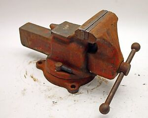 Reed No 25 Combination Utility Vise W Swivel Base 5 Jaws And Pipe Jaws