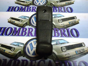 80 S 90 S Vw Mk2 Jetta Golf Gti 16v Oem Black Sunroof Handle Crank 100556817