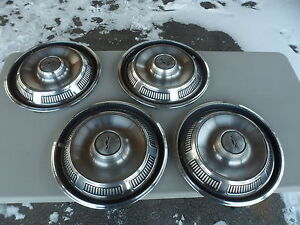 1968 69 70 Ford Galaxie Wheel Hubcaps