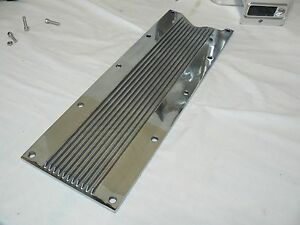 Ls1 Ls6 Polished Valley Cover Finned Includes Bolts Knock Sensor Delete
