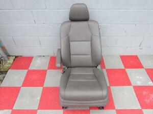 2011 2013 Honda Odyssey Drivers Seat Assembly Grey Leather Air Bag Heated