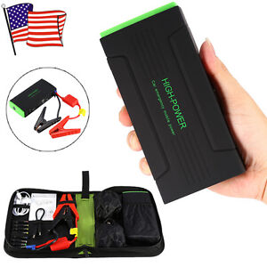 New 30000mah Portable Car Jump Starter Power Bank Battery Charger Engine Backup