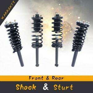 For 98 02 Honda Accord Quick Complete Struts Shocks Coil Springs W Mounts X4
