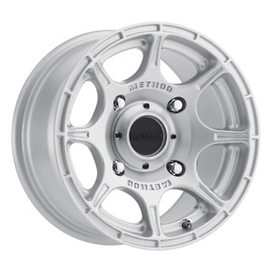 Set 4 14x7 38 4x110 Method Roost Silver Wheels rims 14 inch 47933