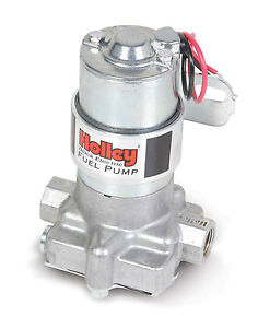 Holley Black Electric External 140 Gph Low Pressure Fuel Pump Universal 12 815 1