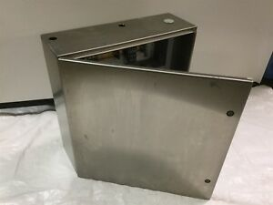 Hoffman Csd24248ss S s Electrical Enclosure Panel Box Type 4x 24 x24 x8 holes