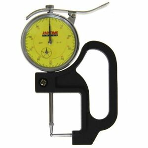 Reloading Thickness Gauge Quick Tube Measuring Ball Anvil Dial Indicator 1 0 001