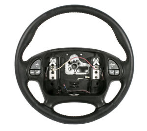 00 02 Firebird Formula Recovered Leather Steering Wheel Style With Radio Control