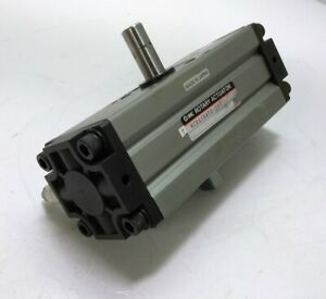Smc Ncra1bw50 180 Pneumatic Rotary Actuator Dbl Rod 50mm Bore 180degree Rot