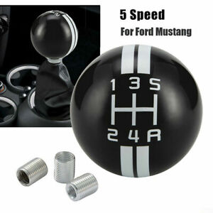 For Ford Mustang Shelby Gt 500 5 Speed Stick Gear Shift Knob Lever Shifter Mt