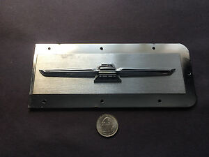 1968 Ford Thunderbird Front Right Side Bezel Marker Plate C8sb 15a484 a Orig