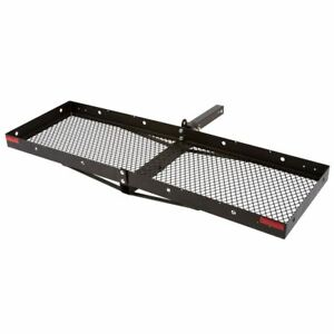 Hitch mounted 60 Steel Tray Folding Cargo Carrier 500lb Capacity