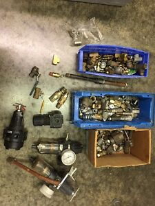 Speedaire Watts Parker Pneumatic Air Compressor Parts Lot Regulator Filter