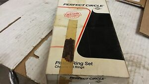 350 Oldsmobile Piston Rings Cast 030 Over 50847 Perfect Circle
