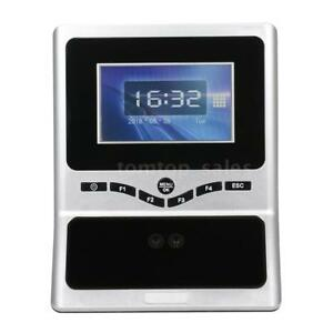 Biometric Face Recognition Password Time Attendance Equipment Access Control