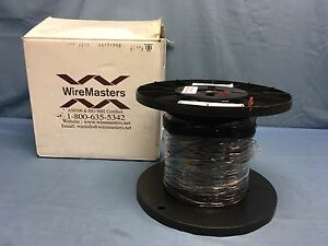5000 Feet M22759 11 26 0 Silver Plated Mil spec Copper Teflon Wire 26 awg Black