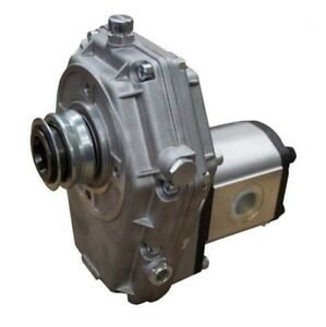 Flowfit Hydraulic Pto Gearbox And Group 3 Pump Assembly Aluminium