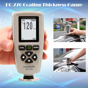 Ec 770 Professional Lcd Digital Coating Film Paint Thickness Gauge Meter Tester