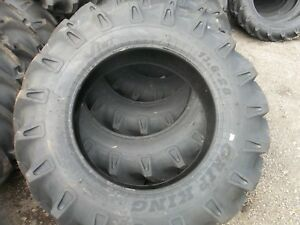 2 tires 13 6x28 13 6 28 12 Ply Tractor Tires W tubes Made In India