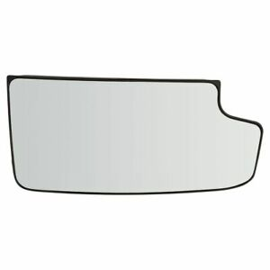 Tow Mirror Glass Lower Convex Passenger Right Rh For Gm Pickup Truck Suv New
