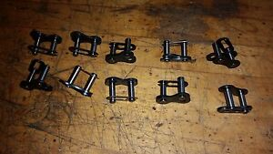 10 Pieces 60 Chain Master Link Clip Type Retainer 3 4 Pitch