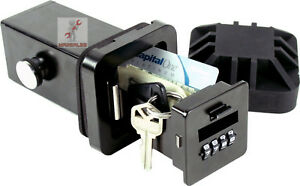 Hitchsafe 2 Trailer Hitch Receiver Combination Key Storage Lock Box Key Safe