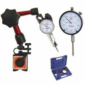 T rlen Dial Indicator 1 0 001 Test 0 15 0 0 03 0 0005 Mini Magnetic Base