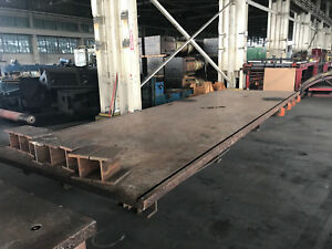 8 X 24 X 3 Welding fabrication Layout Table
