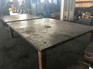 8 X 10 X 3 Layout fabrication Table 2 Available