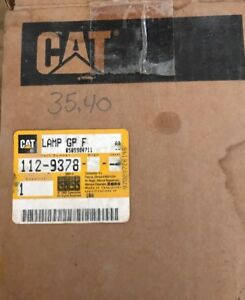 Cat Caterpillar 112 9378 Lamp Gp F Rh1 0012 b2