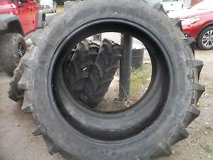 Two New 340 85r38 13 6r38 Radial Tubeless Farmall H Deere A An B Tractor Tires