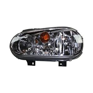 For Volkswagen Golf 1999 2002 Tyc 20 6474 90 Driver Side Replacement Headlight