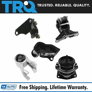 Engine Motor Automatic Transmission Mount Kit Set Of 5 For 99 04 Honda Odyssey
